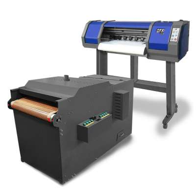 DTF PRO Panthera Direct to Film Comprehensive Solution (includes double-printhead based, extra wide 65cm wide format PRINTER with embedded ROLL FEEDER and an in-line POWDER APPLICATION MACHINE)