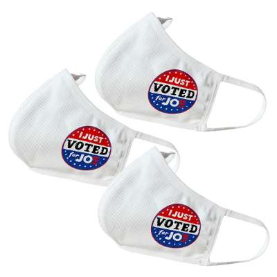 Vote Joe Biden Themed Face Masks (3 Pack)