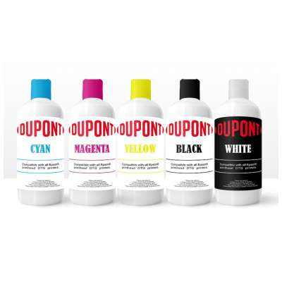 DUPONT Direct to Garment Textile Ink for Epson engines - 250ml