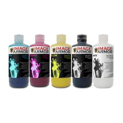 IMAGE ARMOR E-Series Direct to Garment Textile Ink for Epson engines - 250ml