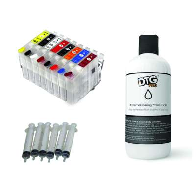 P400 / P640 Cleaning and Maintenance Kit (includes 8 cartridges, 32oz cleaning solution, 6 syringes with special tip)