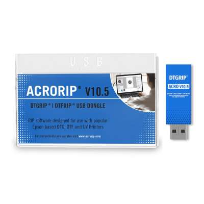 ACRORIP V10.1, works for DTF, DTG and UV Printers | DTFRIP and DTGRIP Software