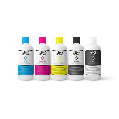 DTG PRO Direct to Garment Textile Ink for Epson engines - 250ml