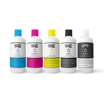 DTG PRO Direct to Garment Textile Ink for Epson engines - 500ml