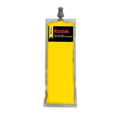 220ml Kodak DTG Yellow ink bag for Anajet mPower MP5 / MP10 and Ricoh Ri Ri3000 / Ri6000