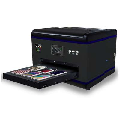 DTG PRO MAX FUSION UV LED Direct to Substrate Printer