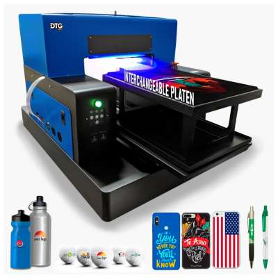 DTG PRO L1800 FUSION UV LED V2.0 Direct to Substrate Printer