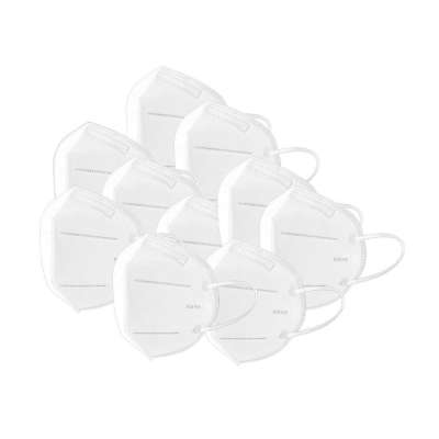 KN95 / FFP2 Disposable Protective Face Mask 10 Pack - Comparable to N95