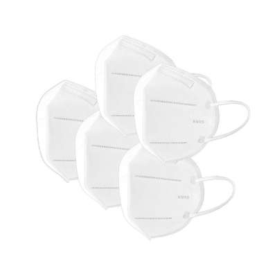 KN95 / FFP2 Disposable Protective Face Mask 5 Pack - Comparable to N95