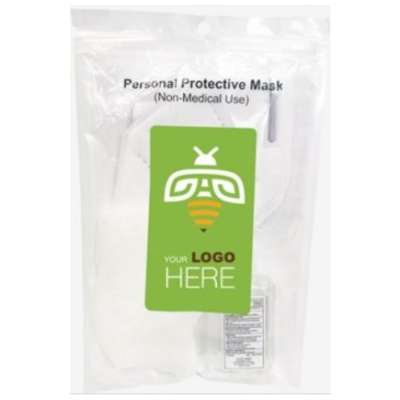 WHOLESALE PRICED Private Label PPE Bundle Value Pack (includes 2oz hand sanitizer, KN95 Disposable Mask, and a pair of Vinyl Gloves) - MINIMUM 50 purchase required
