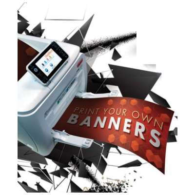 "10 sheets: iColor 550 Banner Paper 8.5"" x 49.6"" (216 x 1259mm)"