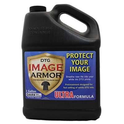 IMAGE ARMOR 1 Gallon Pre-Treatment Solution for Dark Colored Garments (Image Armor Ultra Pretreat for Dark)