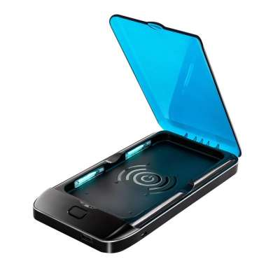 UV Cell Phone Sterilizer / Sanitizer - Portable Phone Disinfection in a UV light box (perfect for sterilizing cell phones, toothbrushes, jewelry, phones, watch & keys)